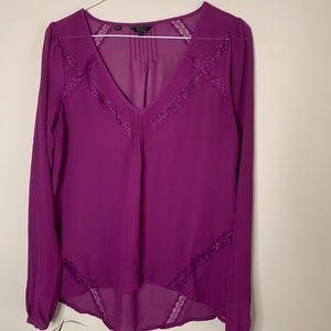GUESS semi-sheer blouse